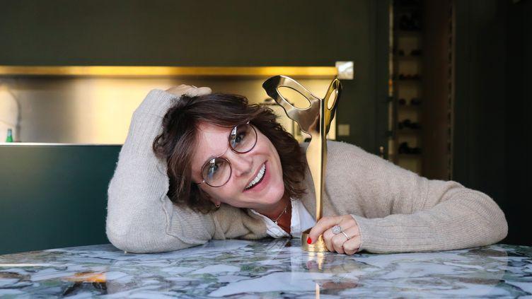 La créatrice de lunettes Nathalie Blanc (DR)
