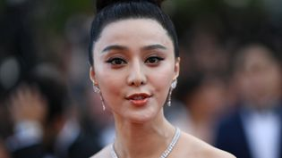 Fan Bing Bing le 8 mai 2018 au festival de Cannes  (LOIC VENANCE / AFP)