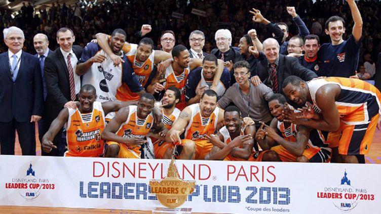 Gravelines remporte la Leaders Cup 2013 (FRANCOIS GUILLOT / AFP)