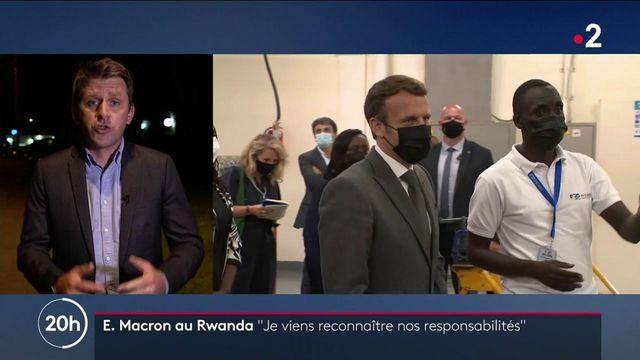 """Rwanda : Emmanuel Macron se présente pas d'excuses mais reconnait """"les responsabilités"""" de la France"""