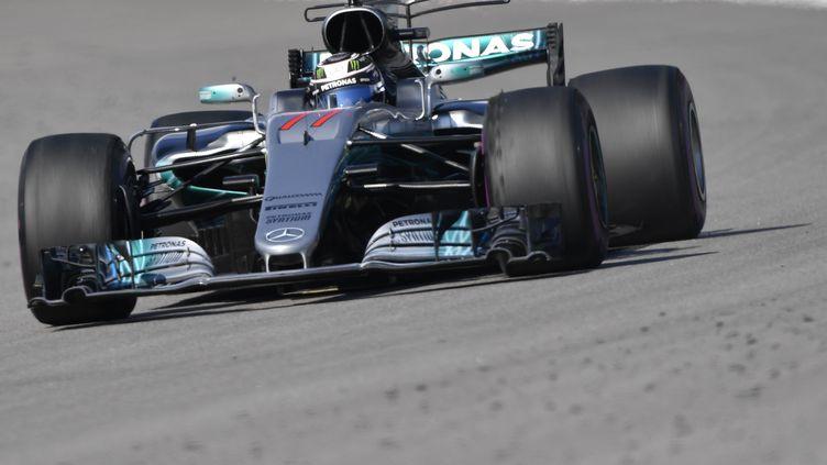 Valtteri Bottas (Mercedes) (ALEXANDER NEMENOV / AFP)