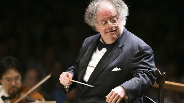 James Levine ici en 2006, à la tête du Boston Symphony Orchestra.  (Michael Dwyer/AP/SIPA)