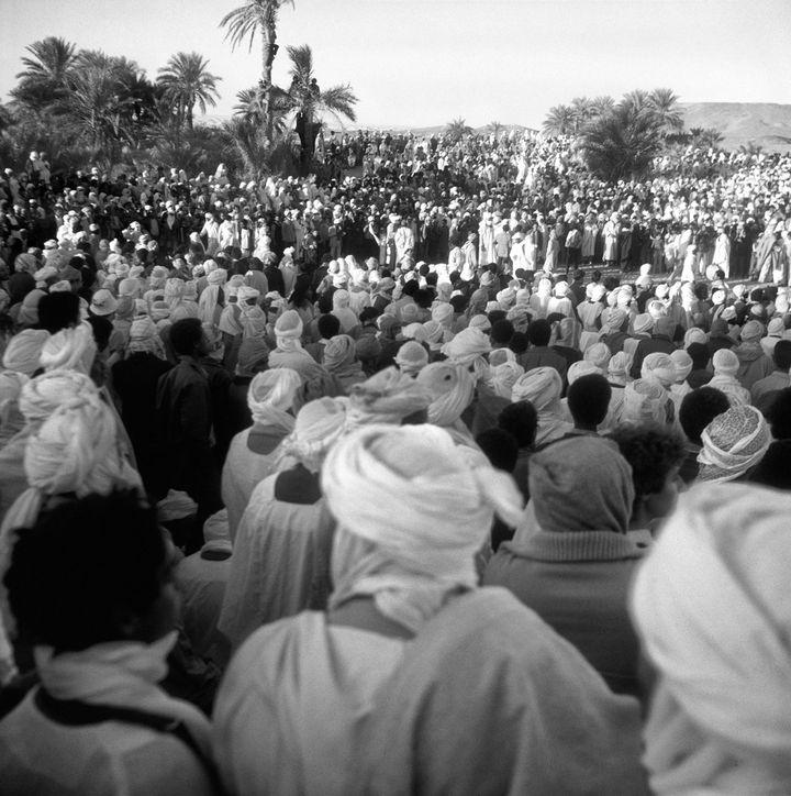 Fête du Mouloud à Timimoun Algérie 1976   ( Adolfo Kaminsky )