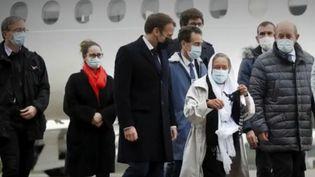 """Libération de Sophie Pétronin : """"Je me suis dit tiens bon, accroche-toi"""" (FRANCEINFO)"""