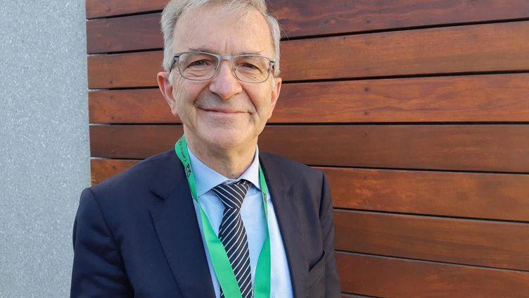 François Bonneau, président de la région Centre Val-de-Loire. (ANTOINE DENÉCHÈRE / FRANCE-BLEU ORLÉANS)