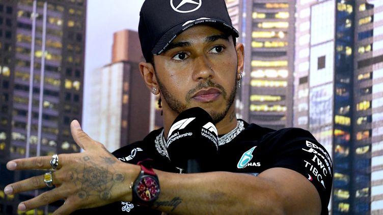 Lewis Hamilton. (WILLIAM WEST / AFP)