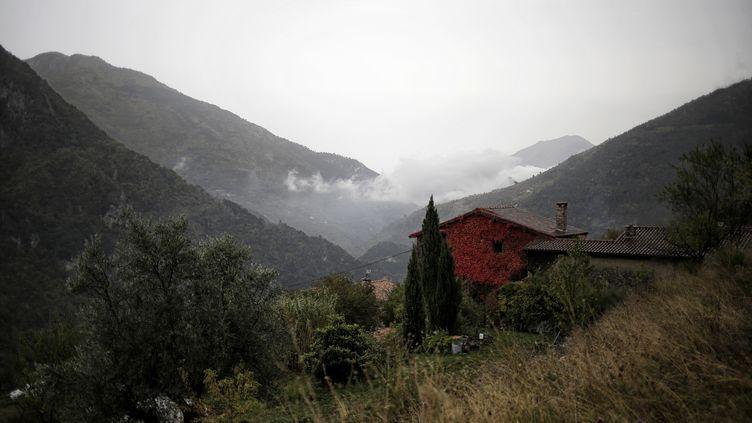 La vallée de la Roya (Alpes-Maritimes), photographiée le 25 octobre 2016. (MARCO BERTORELLO / AFP)