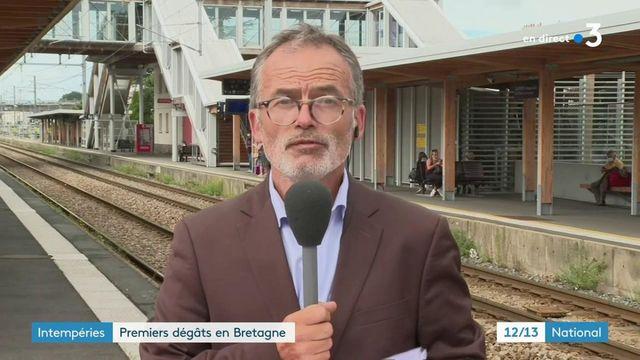 Bretagne : les orages font un blessé grave et des dégâts