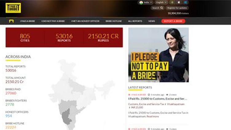 Capture d'écran du site I Paid a Bride (Capture d'écran/FTV)
