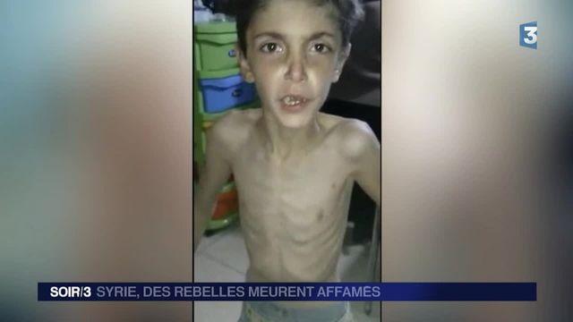 Syrie : les habitants assiégés de Madaya meurent de faim