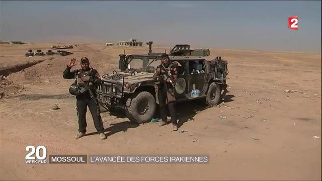Avec les forces spéciales irakiennes qui progressent à 15 km de Mossoul