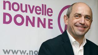 L'économistePierre Larrouturou, le 28 novembre 2013, à Paris. (PATRICK KOVARIK / AFP)
