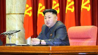Le leader de la Corée du Nord, Kim Jong-un, le 27 décembre 2013 à Pyongyang (Corée-du-Nord). (KCNA / AFP)