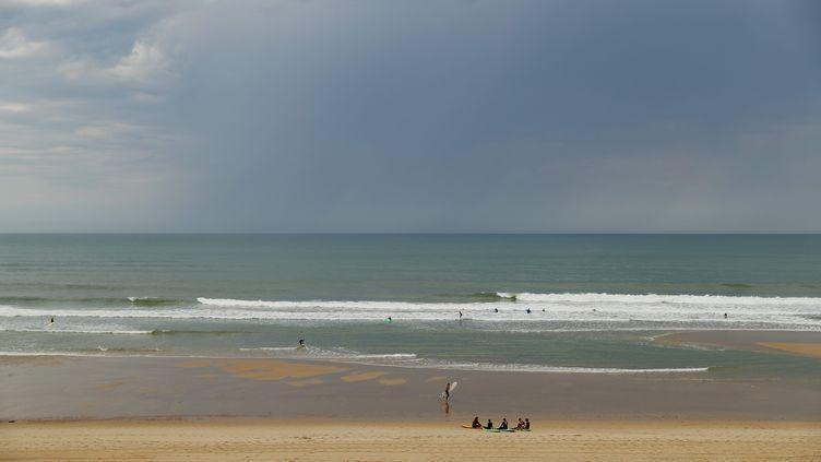 Plage du Medoc, Naujac-sur-Mer, (Gironde). (BONNAUD GUILLAUME / MAXPPP)