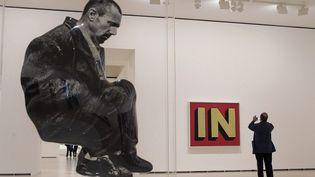 """""""L'art de notre temps. Chefs-d'œuvre des Collections Guggenheim """", la rétrospective de 20 ans de collections du musée de Bilbao  (EPA/MAXPPP)"""