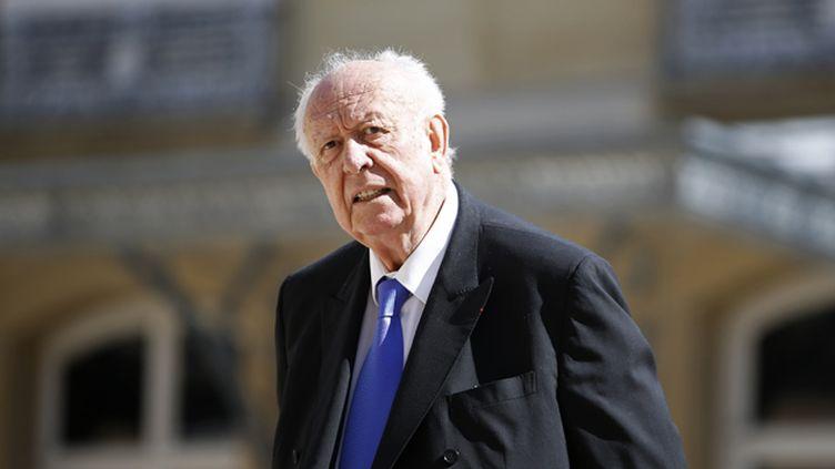 (Jean-Claude Gaudin, sénateur-maire de Marseille © Reuters/Charles Platiau)
