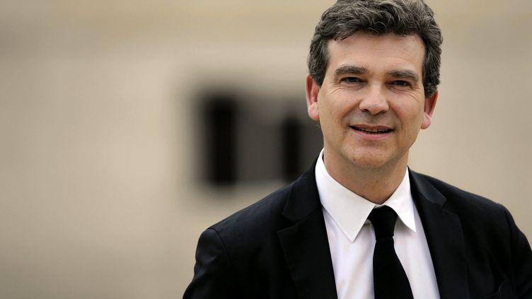 Arnaud Montebourg, ministre du Redressement productif, à l'Elysée, le 17 mai 2012. (MAXPPP)