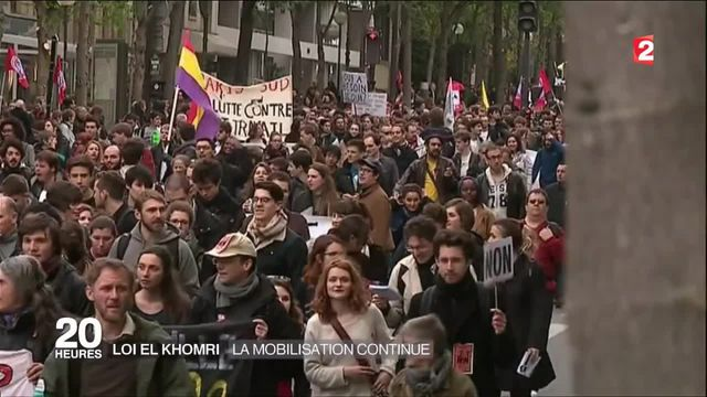 Loi El Khomri : des manifestations dans toute la France