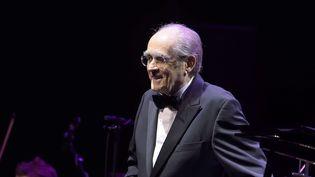 Michel Legrand en mars 2017 à la Salle Pleyel.  (SADAKA EDMOND/SIPA)
