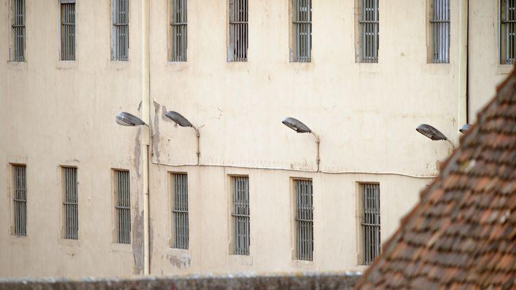 La prison d'Ensisheim (Haut-Rhin), le 14 août 2013. (SEBASTIEN BOZON / AFP)