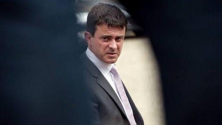 Contrôle d'identité : le ministre de l'intérieur, arbitrera après le rapport de Baudis. (BERTRAND LANGLOIS / AFP)