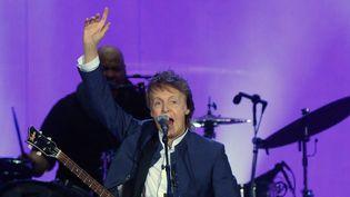 Paul McCartney au festival Desert Trip (Californie) en octobre 2016.  (Jim Ruymen / UPI / MaxPPP)