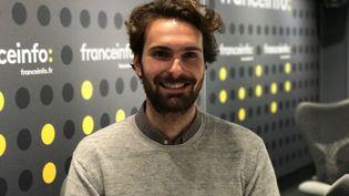 Aurélien Gouttefarde, fondateur de Homeloop, invité du pitch start-up France Info (JC)
