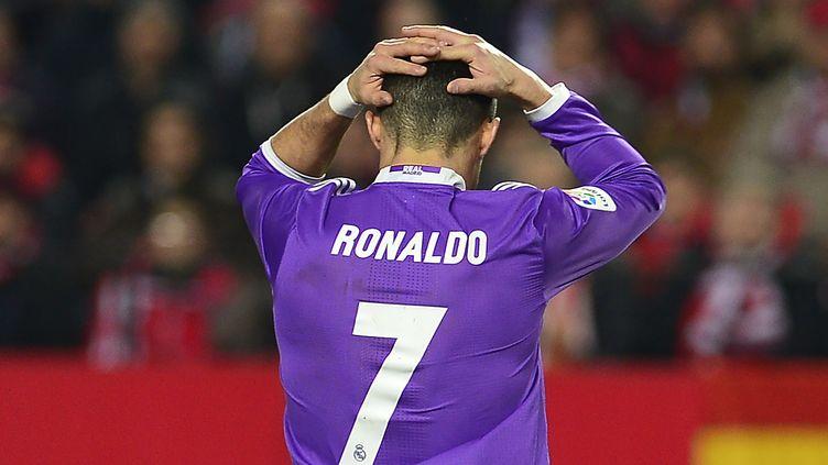 La déception de Cristiano Ronaldo