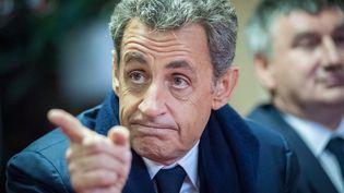 Nicolas Sarkozy à Jullié (Rhône), le 9 novembre 2016. (FRANCK CHAPOLARD / CITIZENSIDE / AFP)