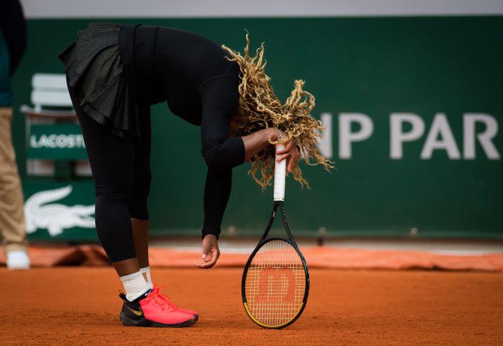 Serena Wiliams lors du premier tour. (ROB PRANGE / SPAINDPPI)