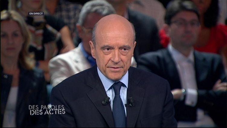 Alain Juppé (FranceTV)