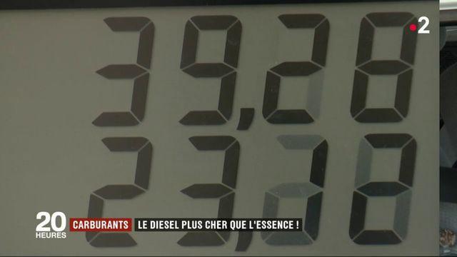 Prix du carburant : le diesel rattrape l'essence