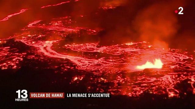 Hawaï : la menace du volcan Kilauea s'accentue