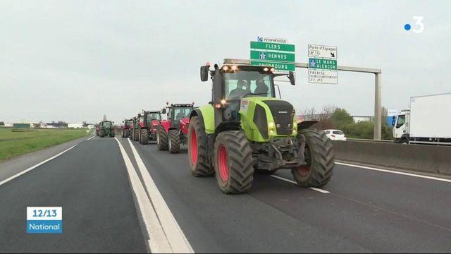 Agriculture : les agriculteurs manifestent contre le projet de réforme de la PAC