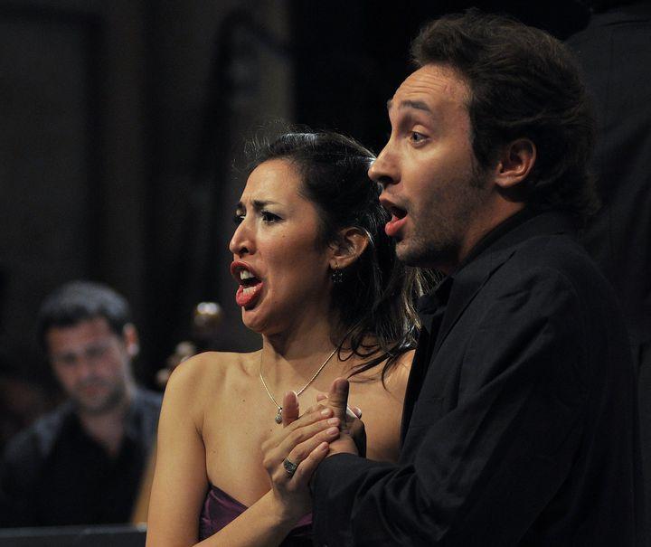"""L'opéra """"Il Diluvio universale"""" mené par Leonardo Garcia Alarcon, joué à Lyon pour la première fois avant la suite de sa tournée jusqu'en Amérique du Sud.  (CCR Ambronay B. Pichene)"""