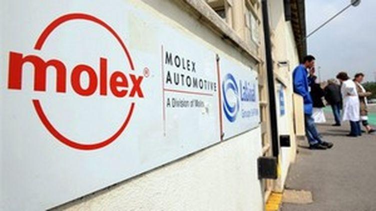 L'usine Molex à Villemur doit fermer ses portes à la fin octobre 2009 (© AFP)