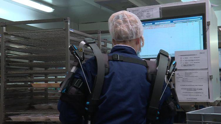 Trois autres appareils du même type devraient être testés par les personnels soignants. (FRANCE 3)