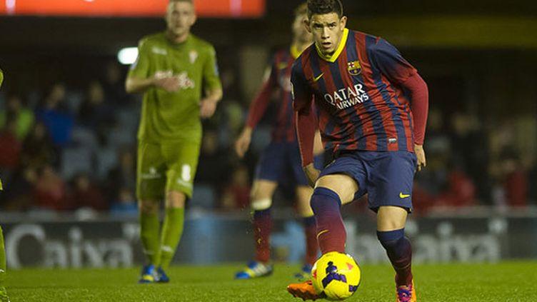 Le joueur du Barca B, Tonny Sanabria