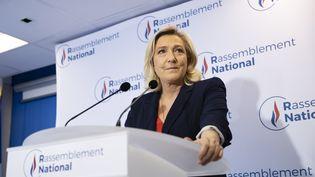 Marine Le Pen, le 27 juin 2021. (IAN LANGSDON / EPA)