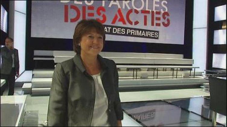 Les premiers candidats sur le plateau (France 2)