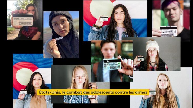 Des jeunes Américains luttent contre les armes en vente libre (FRANCEINFO)