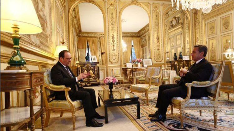 (Nicolas Sarkozy et François Hollande © Elysée)