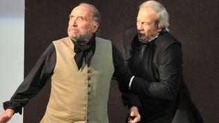 Claude Brasseur et Patrick Chesnais dans le Tartuffe de Molière  (B.Couderc)