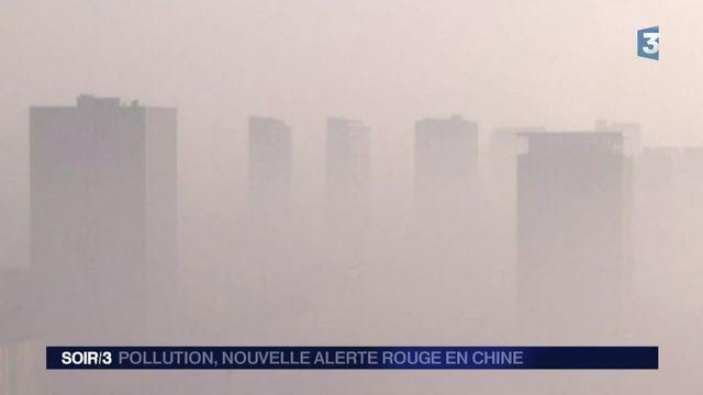 Pollution : la Chine à nouveau en alerte rouge