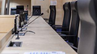 Le procès des attentats du 13-Novembre se tiendra dans une salle d'audience spécialement construite au sein de l'ancien palais de justice de Paris. (JULIEN MICHEL / RADIO FRANCE)