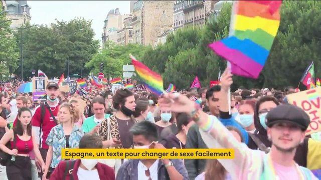 Espagne : un texte pour changer de sexe facilement