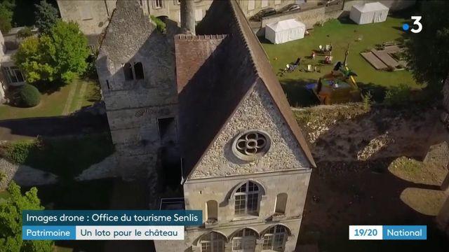 Patrimoine : un loto pour sauver le château de Senlis