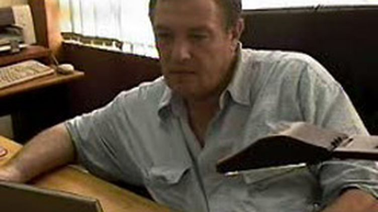 Le journaliste franco-canadien Guy-André Kieffer, disparu en avril 2004 à Abidjan (© France 2)