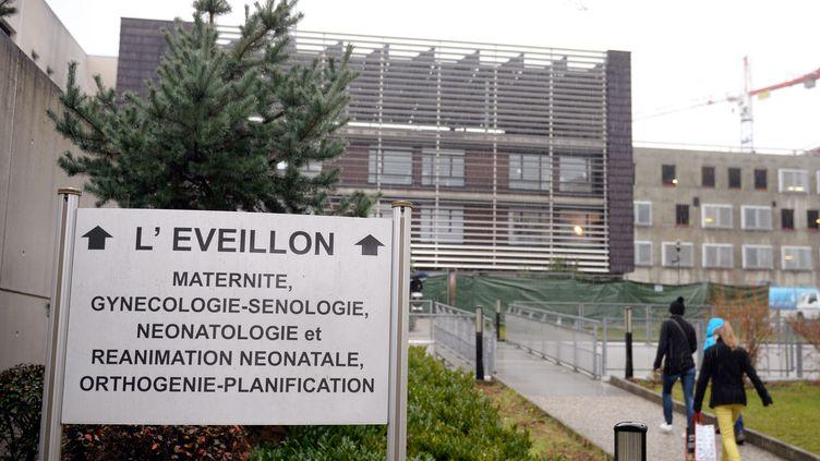 Trois nourrissons sont morts début décembre à l'hôpital de Chambéry(Savoie) après une contamination. (PHILIPPE DESMAZES / AFP)
