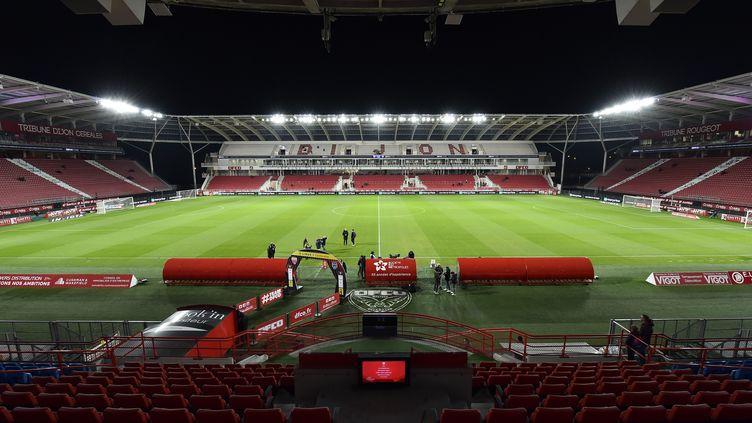 Le stade de Dijon Gaston-Gérard (ROMAIN LAFABREGUE / AFP)